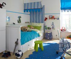 Schon Kinderzimmer Junge Gestalten Das Zimmer Ist Nicht Zu Groß So Dass  Eigenschaften Verwendet Sind Klein Und