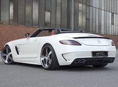 #ToplessTuesday (12 Nov-2013) -  Mercedes-Benz SLS AMG Roadster MEC Design #CarFlash