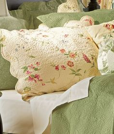 Melody Quilted Pillow Sham