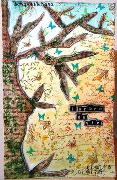 semaine 19 : un arbre ...   pour moi c'est un arbre imaginaire , qui pourrait représenter tous les arbres . Même quand on le croit mort il arrive souvent qu'il renaisse de ses cendres ....