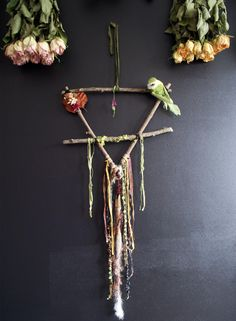 Pagan, Wicca, Arts And Crafts, Diy Crafts, Witch Fashion, Nature Crafts, Transparent Stickers, Handmade Decorations, Plant Hanger