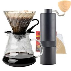 Online Shop from Casa e giardino - Day Percolator Coffee Maker, V60 Coffee, Coffee Server, Creative Coffee, Black Coffee, Barista, Aluminium Alloy, Double 11, Steel