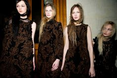 Simone Rocha Fall/Winter 2015 Trunkshow Backstage on Moda Operandi