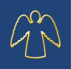 Angel - Free angel,christmas,one line picture, Clip art by DMexico and more and are constantly expanding our content with exclusive files. Free Angel, Christmas Angels, Vector Free, Clip Art, Pictures