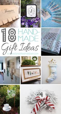 18 Hand-Made Gift Ideas Anyone Can Make! | Confessions of a Serial Do-it-Yourselfer