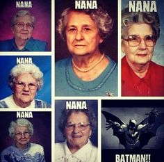 the batman theme song. Nerd humor inspiration (nerd day of spirit week) this made me laugh, made me sing it , then laugh! Funny Shit, Haha Funny, Funny Memes, Funny Stuff, Funny Things, Nerd Stuff, Stupid Jokes, That's Hilarious, Weird Things
