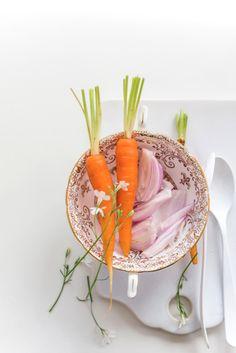 Heirloom carrots by Elizabeth