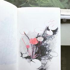Isabelle Arsenault Artsy Fartsy, Colored Pencils, Twitter Sign Up, Favorite Color, Pond, Art Drawings, Doodles, Concept, Colours