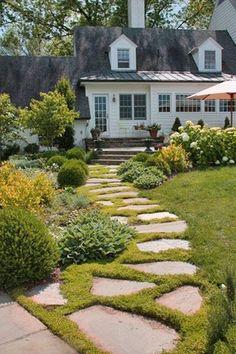 Farmhouse Landscaping Front Yard 99 Gorgeous Photos (16)  #landscapingfrontyard