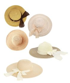 """""""#summer/#sun hats"""" by erindembo on Polyvore featuring Toast and Oasis"""