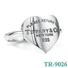 Tiffany and co Please Return To 925 Heart Ring jewelry http://fashiontiffanyshop.tumblr.com/