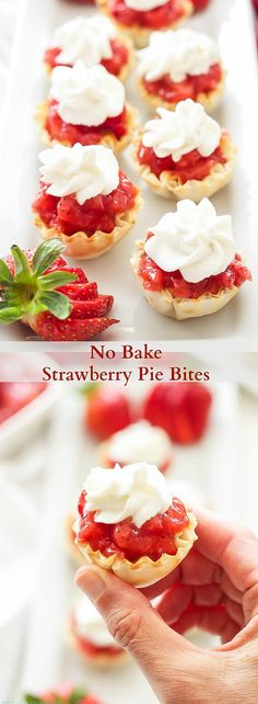 No Bake Strawberry P