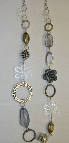 Long necklace by Razelle Troester