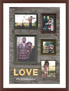 Photo Real Love Framed Print, Brown, Contemporary, Black, White, Single piece, 24 x 36 inches, Brown