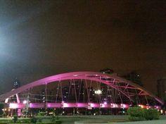 Outubro Rosa, ponte metálica de Osasco