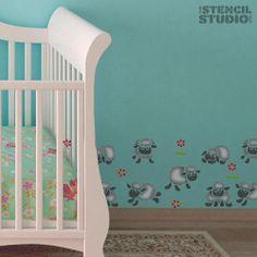 The Stencils Studio's Little Sheep reusable by TheStencilStudio, £7.20