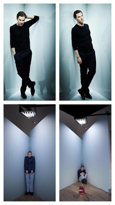 Benedict Cumberbatch & Martin Freeman~ oh my gosh i love how benedict is…