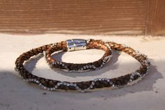 leather necklace by NellyDsgn on Etsy