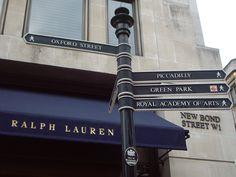 London Park Art, Green Park, Oxford Street, London, Signs, Outdoor Decor, Home Decor, Decoration Home