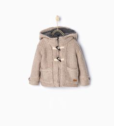 Hooded duffle coat-Coats-Baby boy | 3 months - 3 years-KIDS | ZARA United States