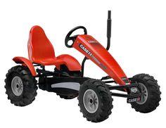 Berg Toys Case IH AF Tractor Branded Traxx Pedal Go-Kart