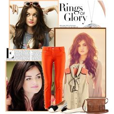 """""""Lucy Hale"""" by nour101 on Polyvore"""
