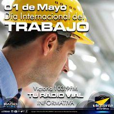 Día del Trabajador: una lucha que se celebra cada 01 de Mayo - vía @victoria1039fm  Todos los primero de mayo, se conmemora un día importante para Venezuela y el resto del mundo: el Día Internacional de los Trabajadores. Este día, no tiene distinciones de sexo, de cargo ni de profesión, y se festeja la reivindicación de los derechos laborales por igual.