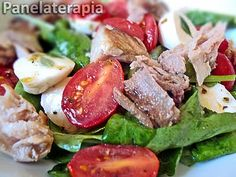 Salada de Atum em Lascas