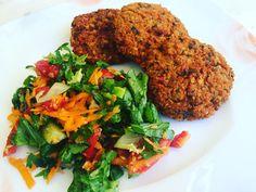 Μπιφτέκια σόγιας Tandoori Chicken, Vegan Recipes, Gluten Free, Meat, Ethnic Recipes, Food, Glutenfree, Sin Gluten, Vegane Rezepte