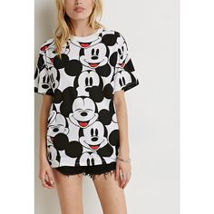 Forever 21 is a go to for Disney merch! Cute Disney Outfits, Girl Outfits, Cute Outfits, Fashion Outfits, Fashion Trends, Mickey Mouse Outfit, Hand Painted Dress, Stylish Outfits, Girl Fashion