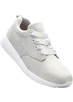 Der lässige Sneaker weiß durch die Glitzeroptik auf der Oberfläche einen  tollen Akzent zu setzen. defe7d9ac6