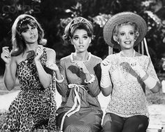 I think every little girl born in the 70's wanted to be either Ginger or Maryann.  Mrs. Howell is who I wish I Was now.  HAHAHA