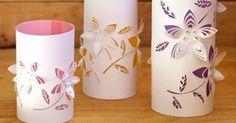 Con papel y unas tijeras podemos realizar manualidades fantásticas. ¿Quieres ver una muestra de ello?