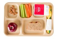 Healthy School Food Resources--  Some of our favorite resources to help you promote healthy daycare meals and snacks