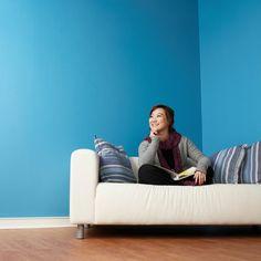 einrichten und dekorieren im maritimen look mit blau, weiß und ... - Wohnzimmer Blau Streichen