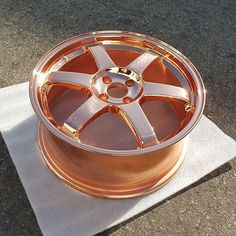 Copper volk wheels