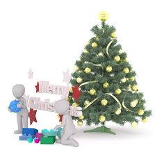 Free Image on Pixabay - Christmas, Gift, Merry Christmas Merry Christmas, Christmas Gifts, Christmas Ornaments, Free Pictures, Free Images, Emoji Photo, 3d Man, Little White, Presents