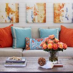 Color Trend: Aqua Home Decor - Dwell Beautiful