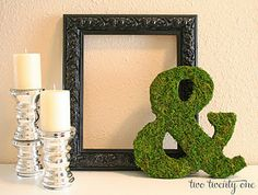 floral ampersand