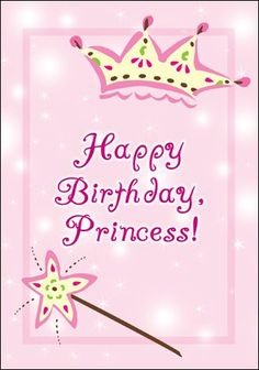 Happy 1st Birthday Princess Gif