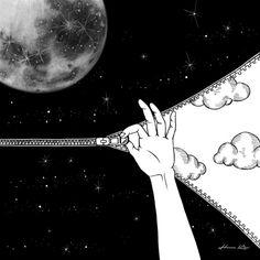 Good Night Art Print by Henn Kim