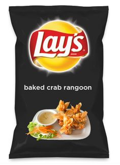 Wouldn't baked crab rangoon be yummy as a chip? Lay's Do Us A Flavor is back, and the search is on for the yummiest flavor idea. Create a flavor, choose a chip and you could win $1 million! https://www.dousaflavor.com See Rules.