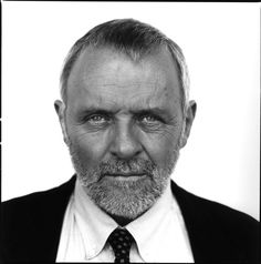 Black and White Photography Portrait of Anthony Hopkins by Nigel Parry