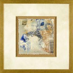 Phoenix Galleries Blue and Gold 2 Framed Print - HPL54