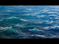 How To Paint Waves - Lesson 1 - Shape - YouTube #oilpainting