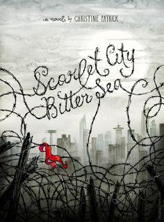 Cover for a fictional book designed by Natalie Sklobovskaya
