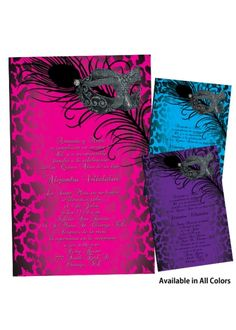 quinceanera invitations I always like something different and unique
