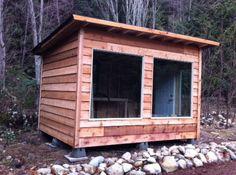 Diy: build a man shack or handy garden shed. Build A Shed Kit, Diy Shed Kits, Building A Shed, Man Cave Basement, Man Cave Garage, Best Man Caves, Garden Shed Diy, Small Basements, Shed Plans