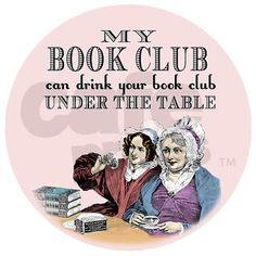 My Book Club Racerback Tank Top on CafePress.com