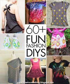 iLoveToCreate Blog: 60+ Fun Fashion DIYs from the iLoveToCreate blog